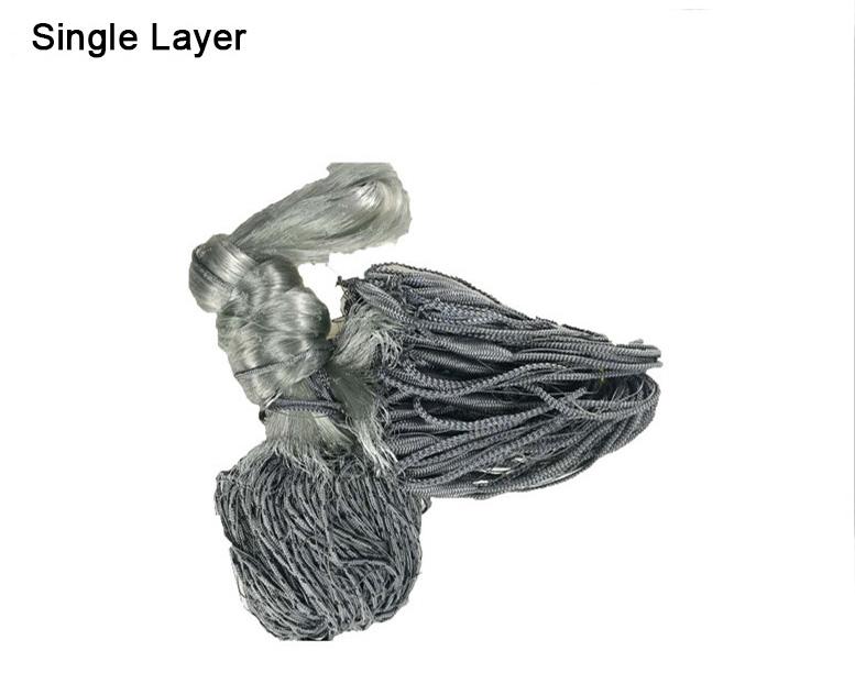 Mono Nylon Finland Fishing Gill Net with Single Layer(GLN001-1)