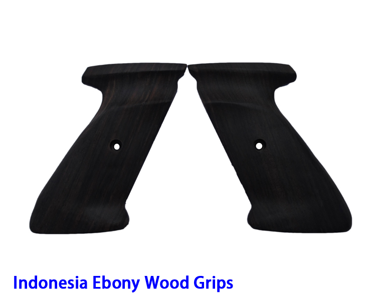 Ebony Wood Handle Grips (04N)