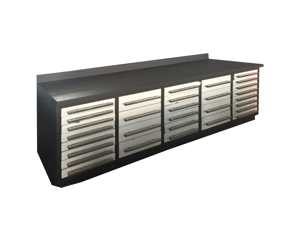 Heavy Duty Metal Workbench/Tool Cabinet with 30 Drawers (MW01-1)