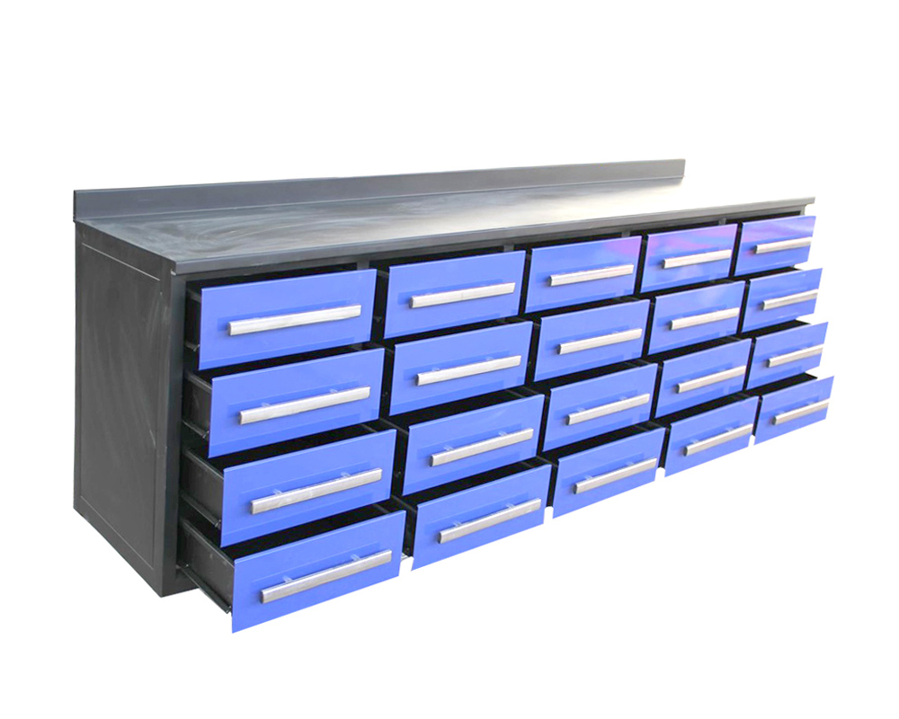 Heavy Duty Metal Workbench/Tool Cabinet with 20 Drawers (MW01-6)
