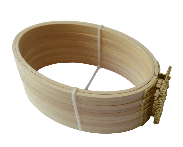 Oval Beech Wood Hoops for Embroidery and Needlework 03